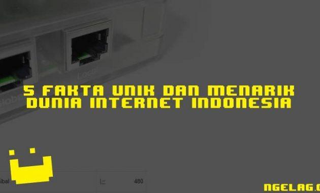 5 Fakta Unik Dan Menarik Dunia Internet Indonesia