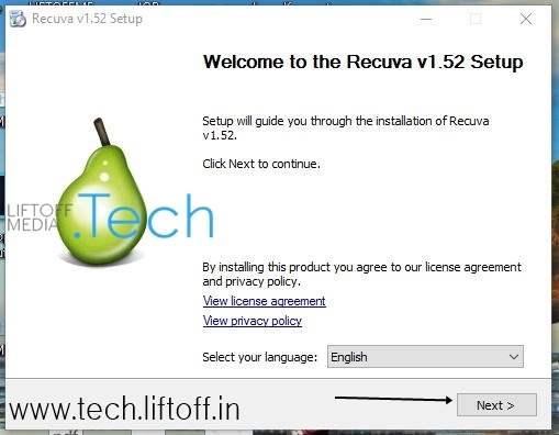 Cara Mengembalikan File Yang Terhapus - Install Recuva - tech-liftoff-in