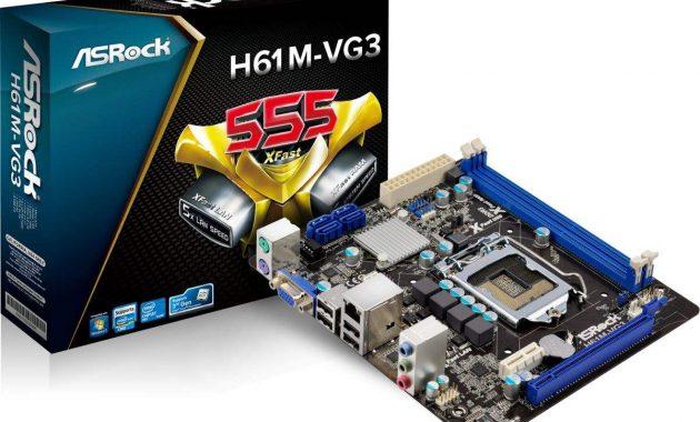 Spesifikasi Lengkap Motherboard ASRock H61M VG3 2