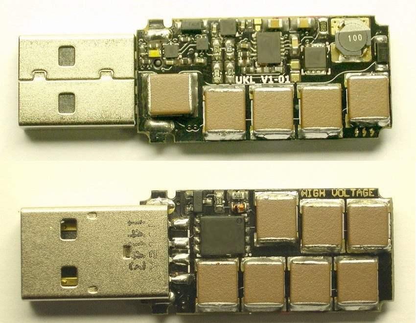 USB Killer 2.0 , Merusak Komputer Hanya Dalam Hitungan Detik Penampakan Bagian Dalam