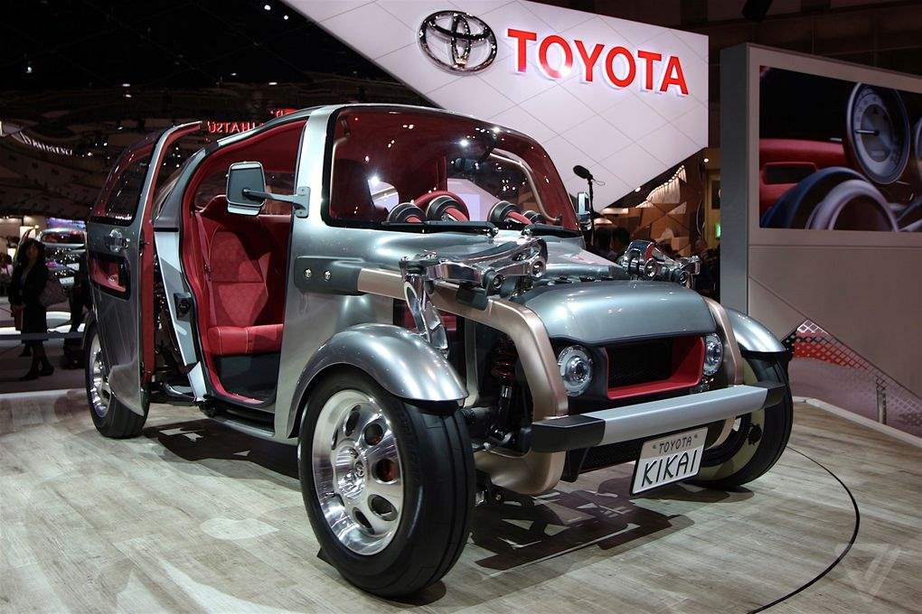 6 Mobil Keren Yang Populer Di Tokyo Auto Show 2015_Toyota Kikai