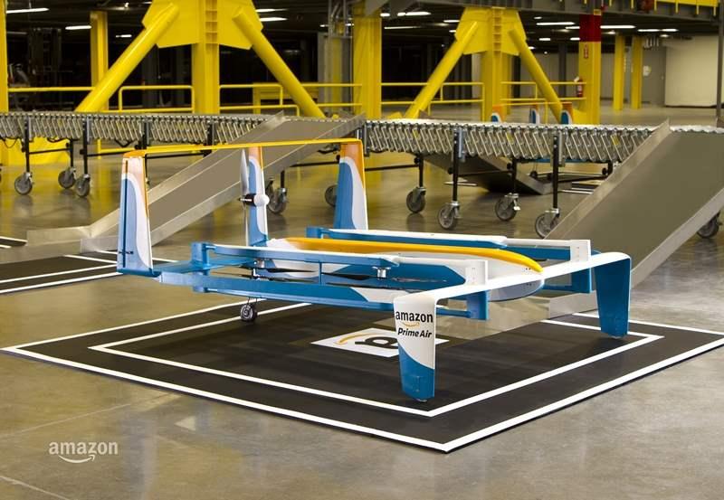 Amazon Memperkenalkan Drone Pengantar Paket Terbarunya_Amazon Prime Air 1