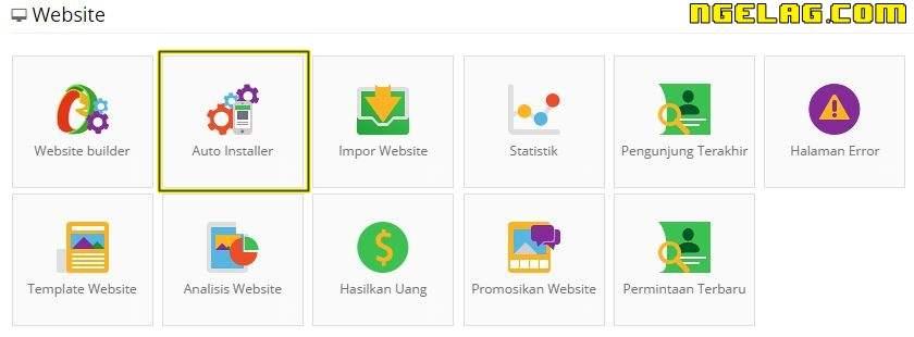 Cara Membuat Website Gratis Dan Mudah Untuk Pemula - Cara Mudah Menginstal WordPress 1