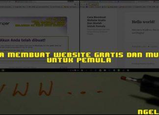 Cara Membuat Website Gratis Dan Mudah Untuk Pemula Featured ngelag.com