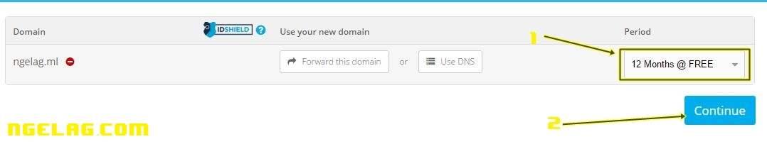 Cara Membuat Website Gratis Dan Mudah Untuk Pemula - Mendaftar domain gratisan 4