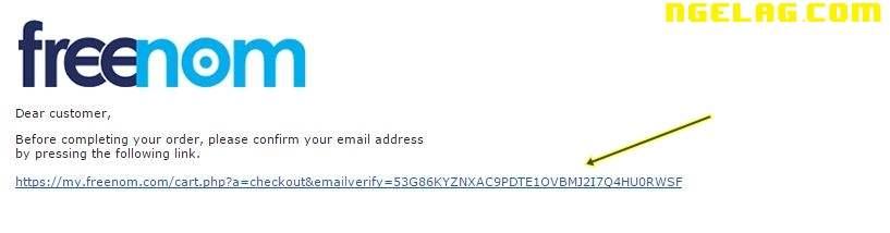 Cara Membuat Website Gratis Dan Mudah Untuk Pemula - Mendaftar domain gratisan 6