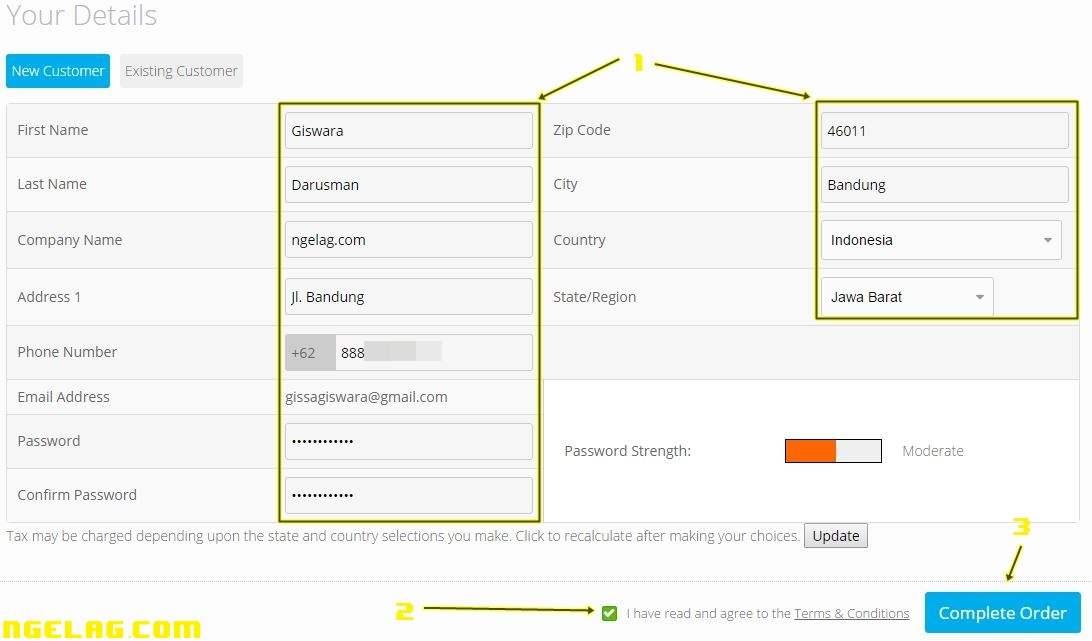 Cara Membuat Website Gratis Dan Mudah Untuk Pemula - Mendaftar domain gratisan 8
