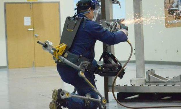 Exo-suits , Teknologi Yang Membuat Manusia 300 kali Lebih Kuat