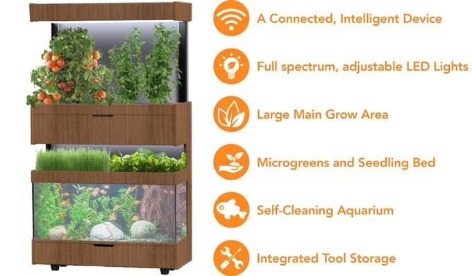 Grove Ecosystem - Menanam Sayuran Dalam Ruangan 5