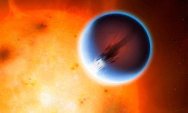HD 189733b , Exoplanet Dengan Angin Berkecepatan 8690 KM per jam