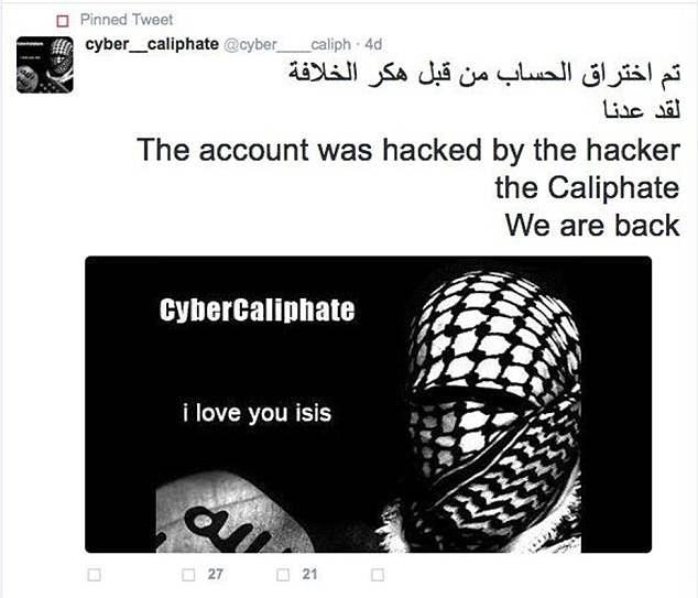 ISIS Berhasil Membajak 54,000 Akun Twitter
