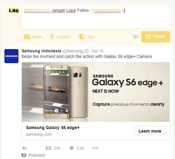 Mengatasi Lesunya Usaha Karena Meningkatnya Teknologi Internet Iklan Twitter Ngelag.com