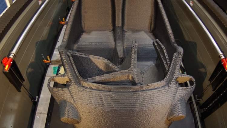 Proses Produksi Mobil 3D Printing Pertama Didunia