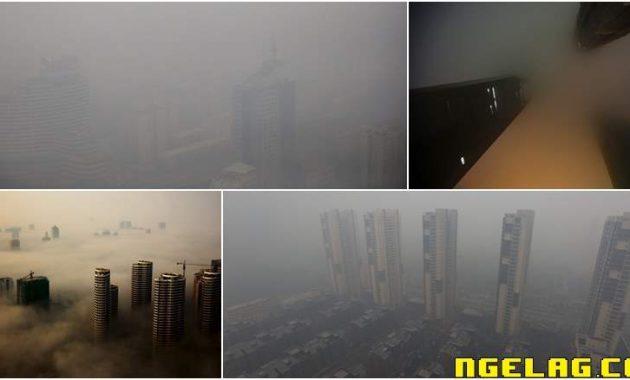 Foto Yang Menunjukan Betapa Kotornya Udara Di China Featured Ngelag.com
