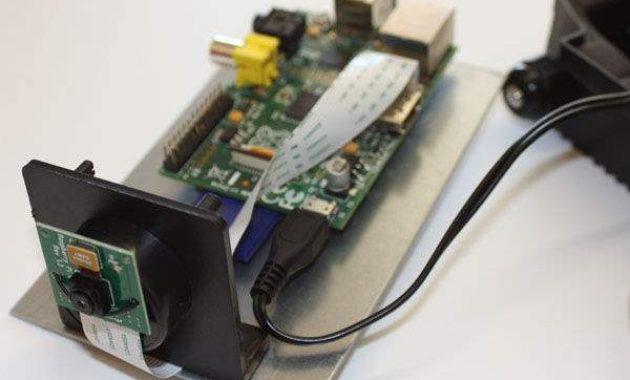 Kamera CCTV Yang Dibuat Mengunakan Menggunakan Raspberry Pi