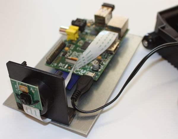 Kamera CCTV Yang Dibuat Menggunakan Raspberry Pi