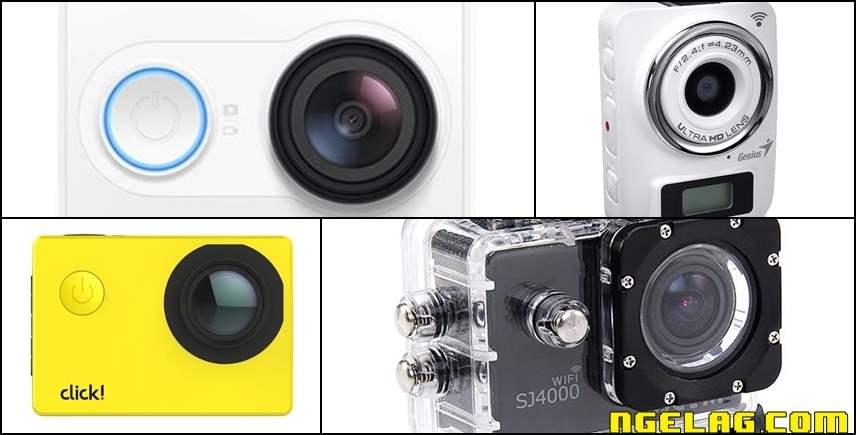 9 Kamera Sejenis GoPro Dengan Harga Lebih Murah