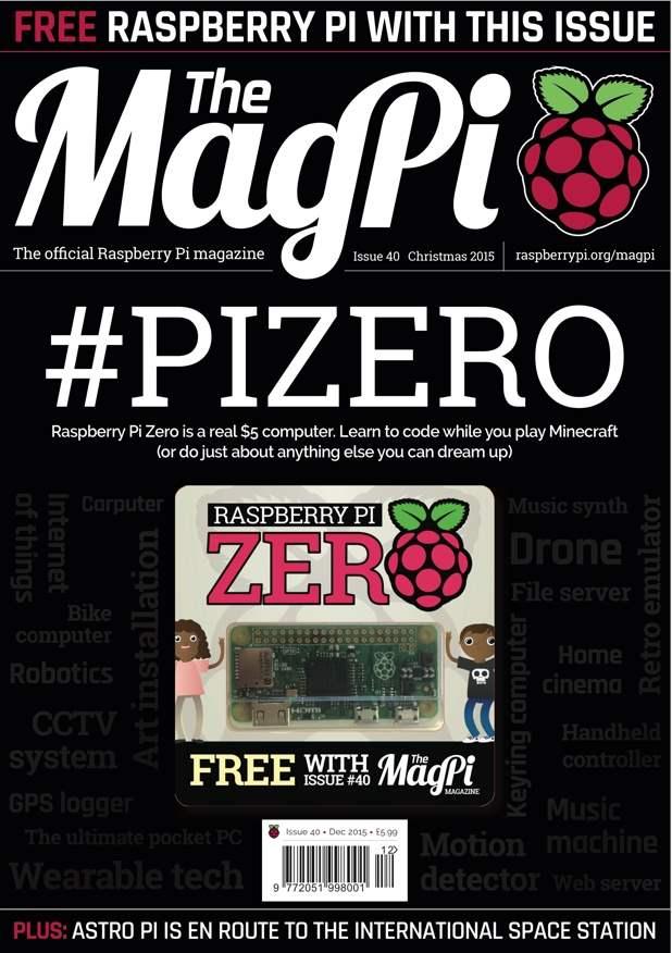 Majalah MagPi Raspberry Pi Zero Indonesia