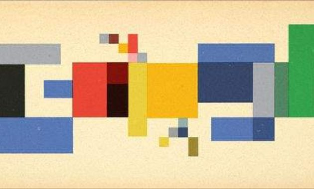 Google Doodle Hari Ulang Tahun Sophie Taeuber-Arp