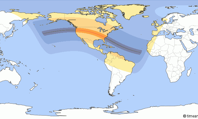 4 Gerhana Matahari Total Akan Terjadi Dalam 5 Tahun Kedepan