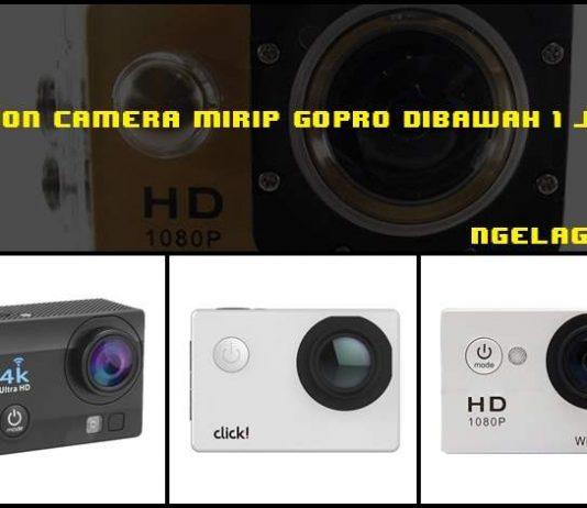 Action Camera Mirip GoPro Dibawah 1 Juta