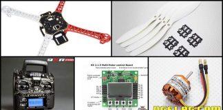 Cara Membuat Drone Untuk Pemula , Ini Daftar Komponennya
