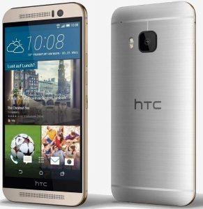 HTC One M9 10 Smartphone Dengan Kamera 4K 2160p@30fps