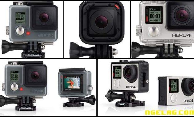 Harga Kamera GoPro Daro HERO Sampai Hero4