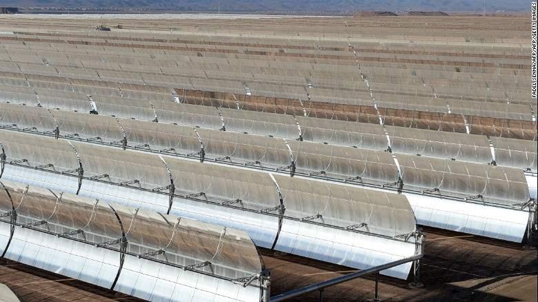 Pembangkit Listrik Tenaga Surya Terbesar Didunia Dibangun Di Gurun Sahara 3