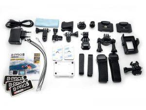 Spesifikasi Dan Harga Brica B-PRO 5 Alpha Edition Action Camera Aksesoris