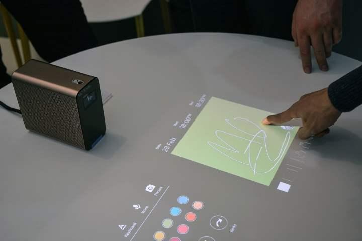 Xperia Projector Memamerkan Kecanggihannya Pada MWC 2016