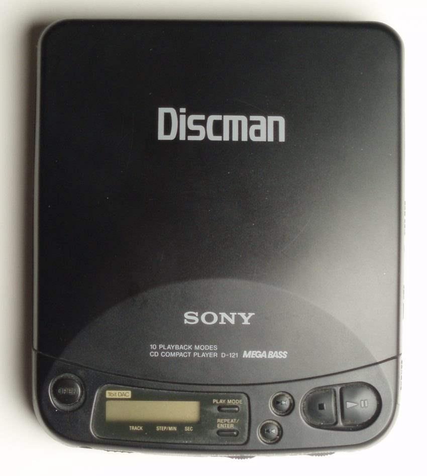 Discman Gadget-Portable Disc Player Jadul