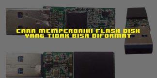 FlashDisk Tidak Bisa Diformat Ini Cara Memperbaikinya