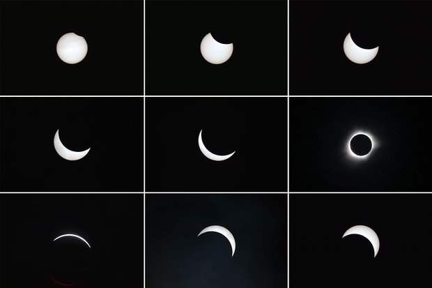 Foto Dan Video Rekaman Gerhana Matahari 9 Maret 2016 1