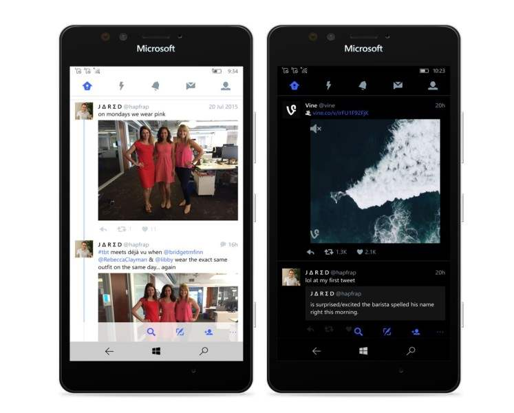 Twitter Luncurkan Aplikasi Khusus Windows 10 Mobile 1
