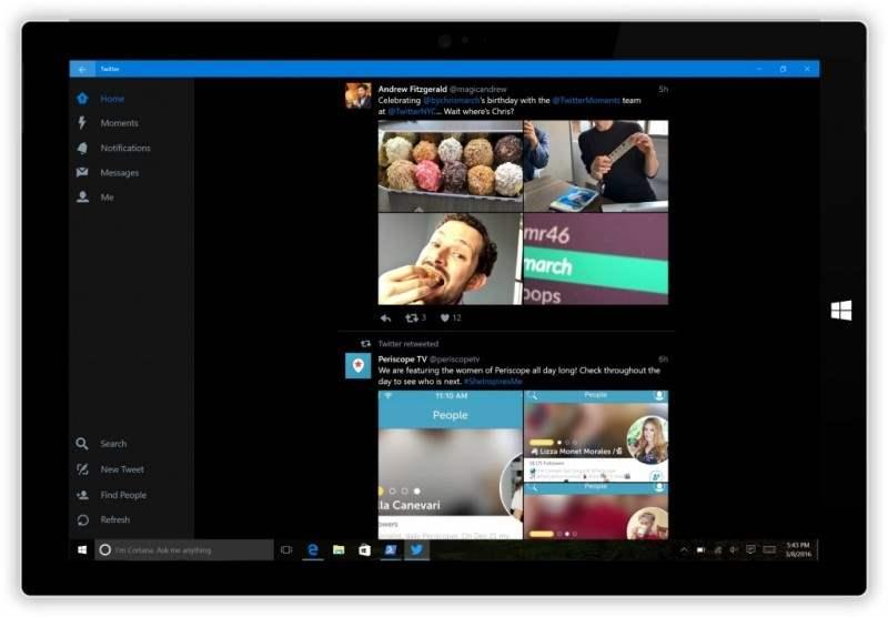 Twitter Luncurkan Aplikasi Khusus Windows 10 Mobile 2