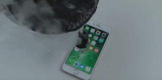 iPhone 6s Disiram Aspal Panas Jadinya Begini