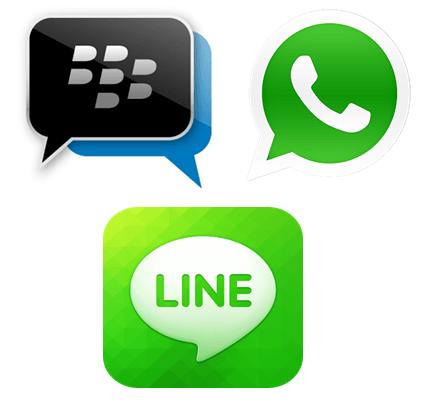 Aplikasi Chatting Menjadi Penyebab Mengapa Facebook dan Twitter Sekarang Jadi Sepi