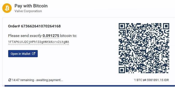 Cara Beli Game Di Steam Tanpa Kartu Kredit Membayar Dengan Bitcoin