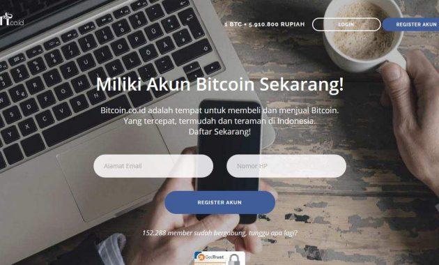 Cara Daftar Bitcoin Dengan Aman Dan Mudah 1