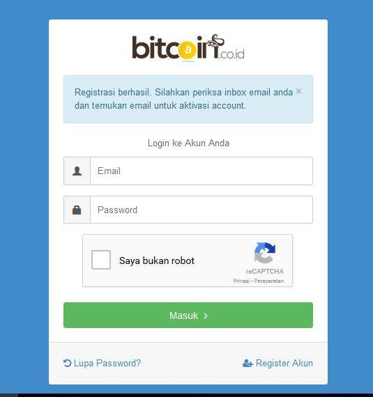 Cara Daftar Bitcoin Dengan Aman Dan Mudah 3
