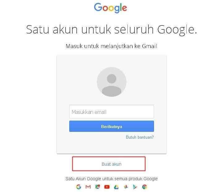 Cara Membuat Email Baru Pada Gmail Halaman Utama Google Mail