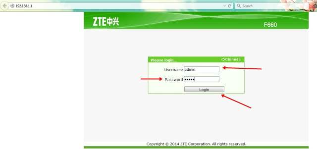 Cara Mengganti Password WiFi Modem ZTE F660