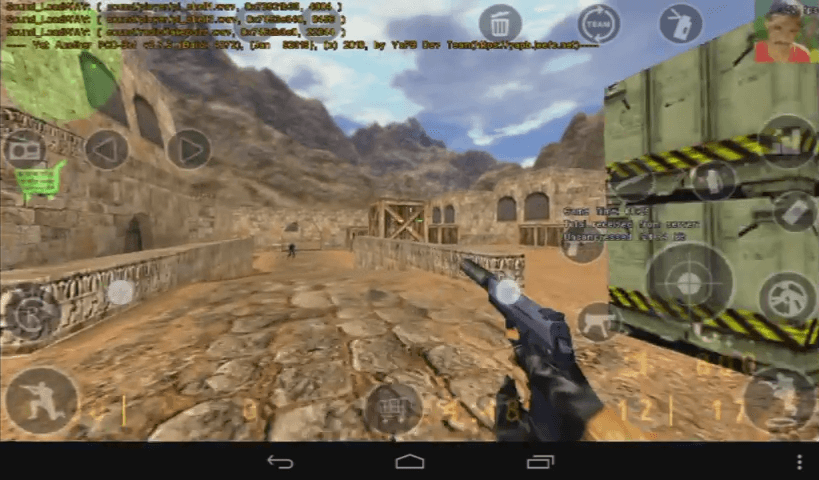 Cara Main Counter Strike Di Android Counter Strike APK Smartphone Android