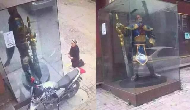 Wanita China Sembah Patung League Of Legends