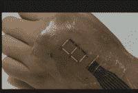 E-skin Electronic Skin Kulit Elektronik Tiruan untuk monitor kondisi tubuh manusia