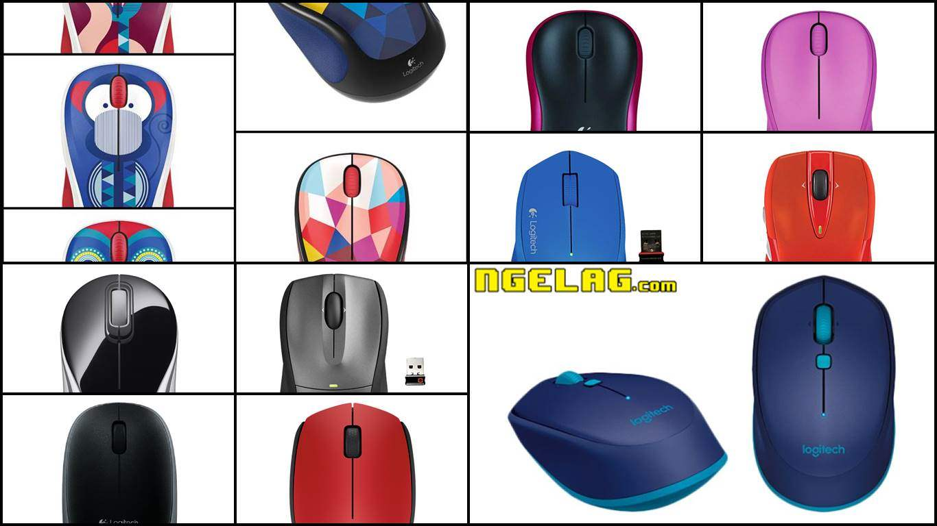 10 Mouse Logitech Wireless Harga Murah