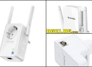 Penguat Sinyal Wifi Murah WiFi Repeater Berkualitas Harga Wireless Range Extender