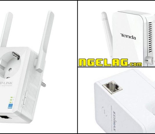 Penguat Sinyal Wifi Murah WiFi Repeater Berkualitas Harga Wireless Range Extender