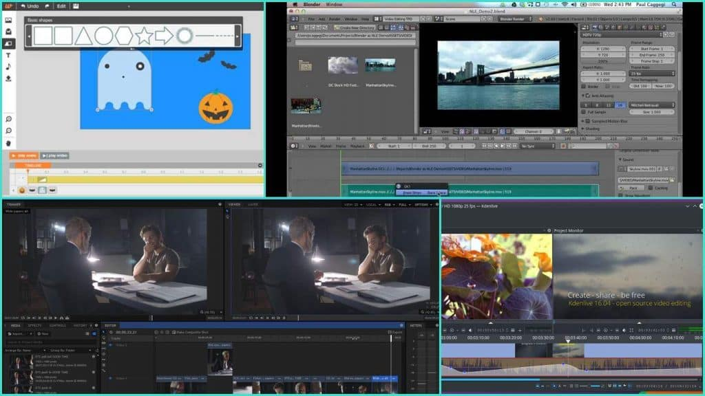5 best free video editing software 2017 steemit